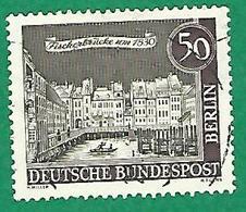 * 1962 / 1963 N° 202 PONT DES PÉCHEURS  OBLITÉRÉ - [5] Berlin