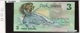 Banconota Isole Cook 3 Dollars - Cookeilanden