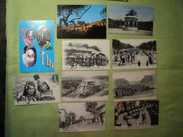 ALGERIE. LOT DE 10 CPA ET CPM. LOCALITES DIVERSES. 1909 / 1919 LES DELEGUES DES NATIONS A LA CONFERENCE D ALGESIRAS. M. - Algeria