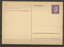 Ukraine - Postkarte - Occupation 1938-45