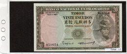 Banconota Timor 20 Escudos - Timor