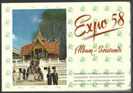 Belgique,album Souvenir Exposition Universelle 1958, 30photos Recto/verso =60 Vues Différentes - Expositions