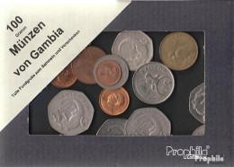 Gambia Münzen-100 Gramm Münzkiloware - Münzen & Banknoten