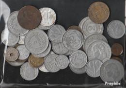 Frankreich 100 Gramm Münzkiloware  Bis 1958 (nur Alte Francs) - Monnaies & Billets