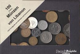 Libanon Münzen-100 Gramm Münzkiloware - Monnaies & Billets