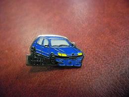 PIN'S AUTO PEUGEOT 306 Tours (37) - Automobile Bleu @ 27 Mm X 15 Mm - Peugeot