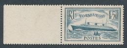 N-316: FRANCE:   Lot Avec N°300** Bord De Feuille, 1 Pt Au Verso - France