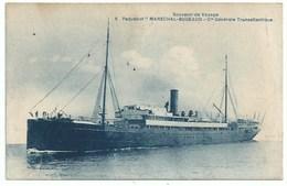 Bateau Transport -    Transatlantique Maréchal Bugeaud - Paquebots