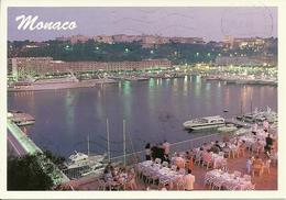 Principaute De Monaco, Montecarlo, Le Port La Nuit, The Harbour At Night, Il Porto Di Notte - Porto