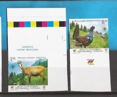 2006  374-75 EUROPA WWF PROTECTION NATURA AUERHAHN GAEMSE    BOSNIA REPUBLIKA SRPSKA RR IMPERFORATE SELTEN MNH - Idées Européennes