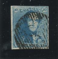 Belgique : N° 2a (?) Oblitéré - 1849 Epaulettes