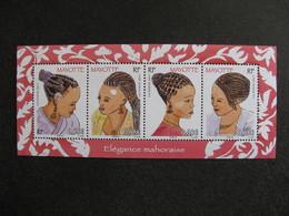 Mayotte: TB Feuille N°241 Au N° 244, Neuve XX . - Mayotte (1892-2011)