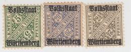 WURTEMBERG WEIMAR  /   240 - Wurtemberg