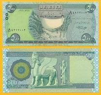 Iraq 500 Dinars P-98A 2018 UNC Banknote - Iraq