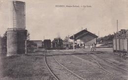 PESMES -- Trains - Animation- La Gare - Pesmes