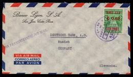 COSTA RICA - SAN JOSE / 1963 LETTRE AVION POUR L' ALLEMAGNE (ref LE2874) - Costa Rica