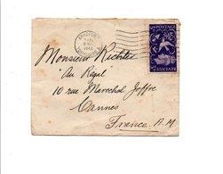 GB LETTRE DE BRADFORD POUR LA FRANCE 1946 - 1902-1951 (Rois)