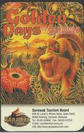 Sarawak Calendar 1999 Monkey Kingfisher - Calendriers
