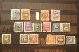 Brésil Collection Taxe Dont N°34 Et 36 Neuf * - Timbres-taxe