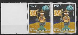 2009  Polynésie Française N° 875 (x2)  NF**  MNH. .La Ora Na La Lune. - Polynésie Française