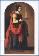 Francisco De ZURBARAN (1598-1664) - Sainte Lucie, Vers 1635-1640 - Peintures & Tableaux
