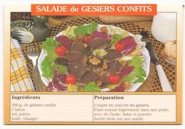 RECETTE SALADE DE GESIERS CONFITS - Recettes (cuisine)