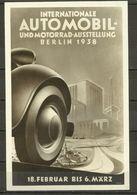 Berlin 1938 - Automobil - Allemagne