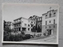 Cpsm 68 MULHOUSE Clinique Saint-Damien Façade Nord Chapelle 1963 - Mulhouse