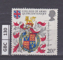 GRAN BRETAGNA   1984Stemmi 20,5 P Usato - 1952-.... (Elizabeth II)