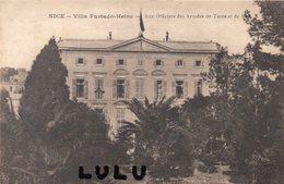 DEPT 06 : édit. Gilletta : Nice Villa Furtado Heine Aux Officiers Des Armées De Terre Et De Mer - Nice