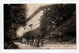 - CPA AVON (77) - Fontainebleau - Hôtel Des Cascades En Pleine Forêt - Côté Ouest - Editions Lévy - - Avon