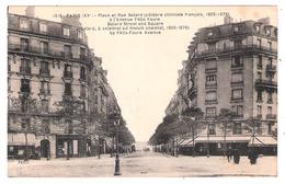 Place Et Rue Balard (Paris - 75015) à L'avenue Félix Faure - Arrondissement: 15