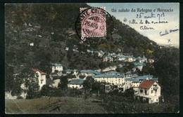 Un Saluto Da Retegno E Avrascio - Viaggiata 1913 - Annullo Natante Colico/Como - Rif. 01315 - Italia