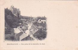 Chateaudun Vue Prise De La Descente Du Mail éditeur Laussedat - Chateaudun