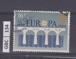 GRAN BRETAGNA   1984Europa 16 P Usato - 1952-.... (Elisabetta II)
