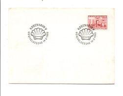DANEMARK 1980 200 ANS MAISON DE LA POSTE COPENHAGUE - Marcophilie - EMA (Empreintes Machines)
