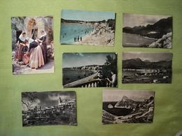 ESPAGNE. LOT DE 7 CPSM MALLORCA. ANNEES 50 / 60 HOTEL FORMENTOR / VUE GENERALE DU PORT DE POLLENSA / LA CARTUJA DE VALL - Mallorca