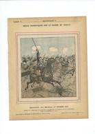SEDAN Bataille (1er Septembre 1870) Cdt D'Alincourt Fbg De Cazal Couverture 220 X 175  Bon état 3 Scans - Protège-cahiers