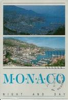 """Principaute De Monaco, Montecarlo, Le Port """"Nuit Et Jour"""", The Harbour """"Night And Day"""" - Porto"""