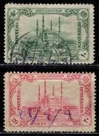 TR+ Türkei 1913 Mi 226-27 Edirne - Used Stamps