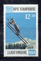 633 490 - ALBANIA 1963 ,    Yvert Francobollo Da Foglietto (61)  ***  MNH . INNSBRUCK - Albania