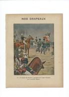 Mal MAGNAN Nos Drapeaux Chasseurs à Pied  Légion D'Honneur Couverture 220 X 175 TB 3 Scans - Book Covers