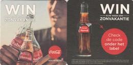 1 Viltje Coca Cola - Sous-bocks