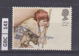 GRAN BRETAGNA   1984Natale 22 P Usato - 1952-.... (Elisabetta II)