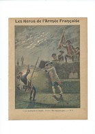 Héros De L'Armée Française Chevert Prague Vardo/Ne Réponds Pas Couverture 220 X 175 TB 3 Scans - Protège-cahiers