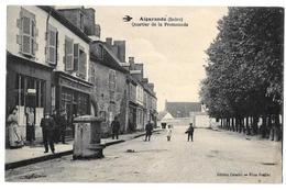 CPA Indre 36  Aigurande Quartier De La Promenade - France