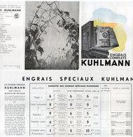 """Engrais Complets """"KUHLMANN"""" Dépliant 3 Volets   (110688) - Publicités"""
