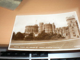 Round Tower And Edward III Tower Windsor Castle - Royaume-Uni