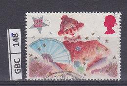 GRAN BRETAGNA   1985Natale 22 P Usato - 1952-.... (Elisabetta II)