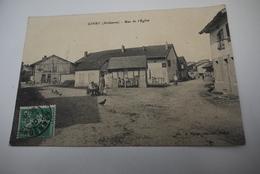 GIVRY   RUE  DE  L EGLISE - Autres Communes